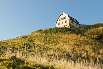 mountain guesthouse, Switzerland
