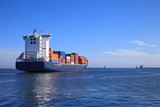 Fototapety Container ship