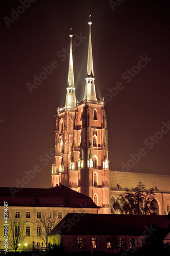 Cathedral in Wroclaw, Poland © CCat82