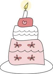 Torte - für Hochzeit, Geburtstag, Valentinstag, ...