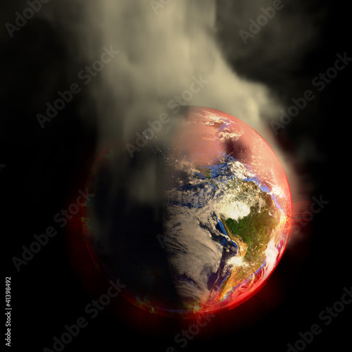 Doomsday Earth On Fire