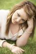 Teenage girl outdoors