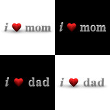 I Heart Mom, I Heart Dad