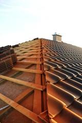 baustelle dach eindecken VII