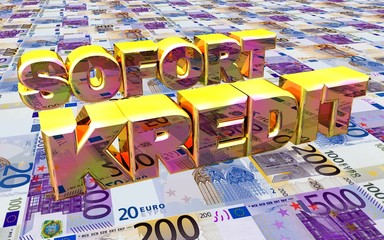 3D Geldboden - SOFORT KREDIT