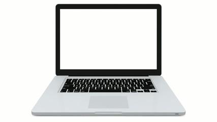 Laptop wird aufgeklappt (Full HD, 30 FPS)