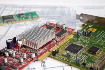 Placas con circuitos integrados