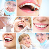 Fototapety healthy teeth and Dental doctor