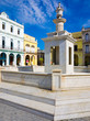 Square and colonial buildings in Old Havana
