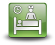 "Green 3D Effect Icon ""Inpatient"""