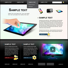 Editable Website Template 5.