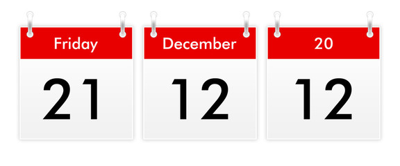 21.12.12 - Friday 21 December 2012 - the end