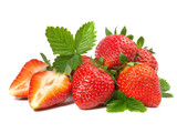 Fototapety Erdbeeren