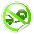 Ecological transport sticker