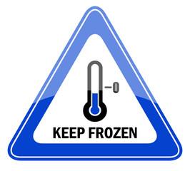 Keep frozen vector sign