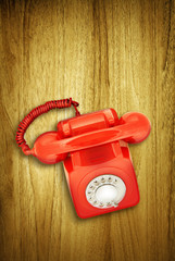 overhead red phone