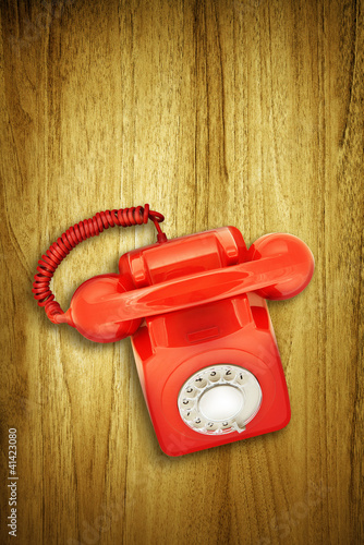 overhead red phone