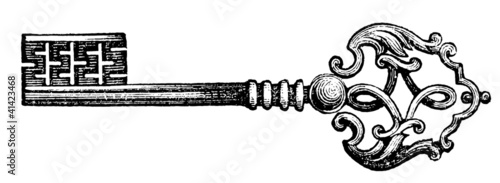 Door Key, 18th century