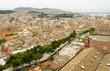 Cagliari, veduta del quartiere di Villanova