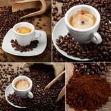 Collage caffè espresso