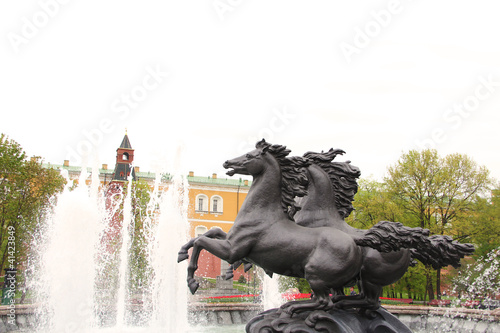 Four Seasons Moscow Fountain