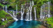 Site de la cascade de Grand-Galet, La Réunion.