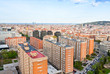 panorama of Barcelona city