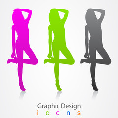 graphic design fashion podium.