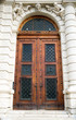 Ancient wooden door design