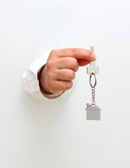 Giving new home key