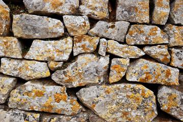 Mur de pierres sèches