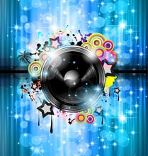 Music Club fond pour disco événement international de danse