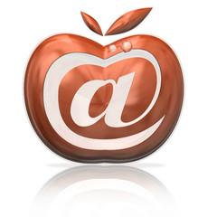 E-mail fruta Maçã