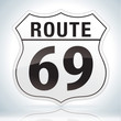 Route Sixty Nine Sign.
