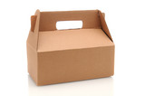 Cardboard Carry-Out Box