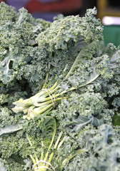bunches of kale