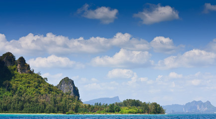 Island in Krabi from Thailand