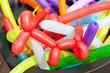 canvas print picture - balloon twisting art children workshop