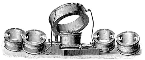 Receiving transformers. Radiotelegraphy