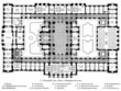 Layout of the building of the Supreme Court in Leipzig