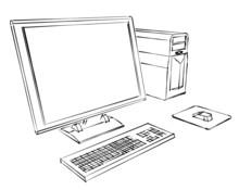 Komputer stacjonarny streszczenie szkic