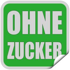 Sticker grün quad cu OHNE ZUCKER