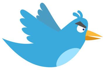 Angry tweet
