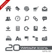 Web site Icons // Basics