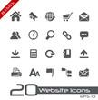 Web site Icons // Basics