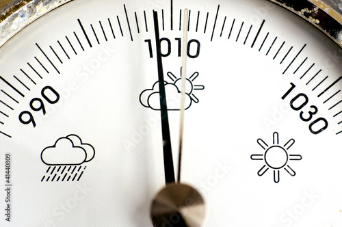 Leinwandbild Motiv Barometer