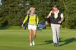 Gute Laune beim Golfen