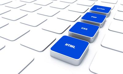 3D Pads Blau - HTML CSS PHP MYSQL 9