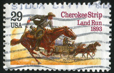 Cherokee strip land run
