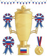 russia football trophy
